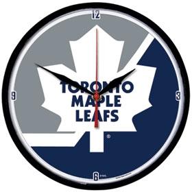 Toronto Maple Leafs Round Clock