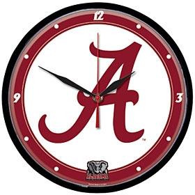 Alabama Crimson Tide Round Clock