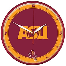 Arizona State Sun Devils Round Clock