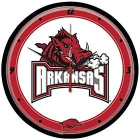 Arkansas Razorbacks Round Clock