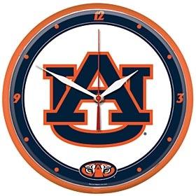 Auburn Tigers Round Clock