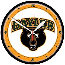 Baylor Bears Round Clock
