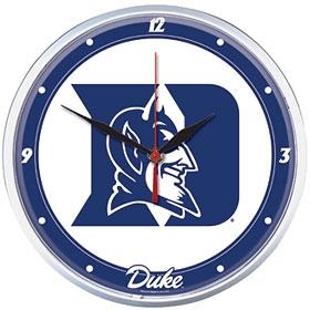 Duke Blue Devils Round Clock