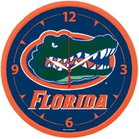 Florida Gators Round Clock