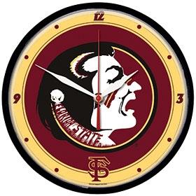 Florida State Seminoles Round Clock