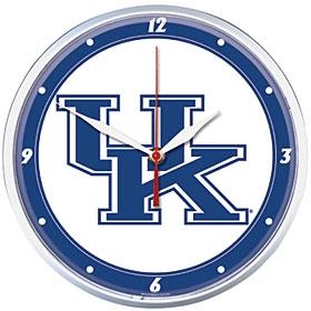 Kentucky Wildcats Round Clock