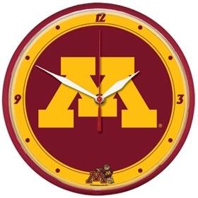 Minnesota Golden Gophers Round Clock
