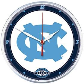 North Carolina Tar Heels Round Clock