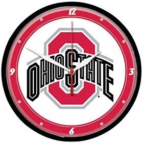 Ohio State Buckeyes Round Clock