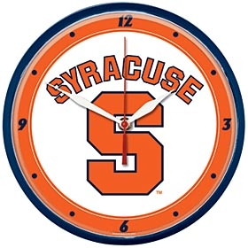 Syracuse University Round Clock