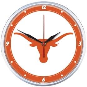 Texas Longhorns Round Clock
