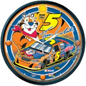 Terry Labonte Round Clock