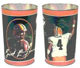 Green Bay Packers Brett Favre Wastebasket