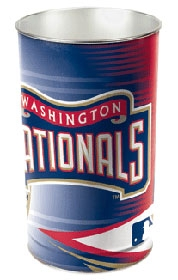 Washington Nationals Wastebasket