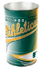 Oakland Athletics Wastebasket