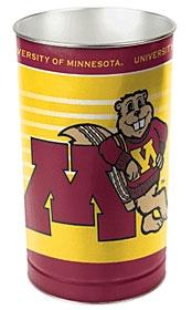Minnesota Golden Gophers Wastebasket