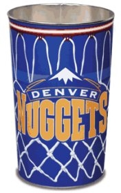 Denver Nuggets Wastebasket