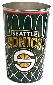 Seattle Sonics Wastebasket