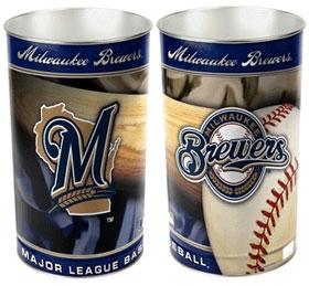 Milwaukee Brewers Wastebasket