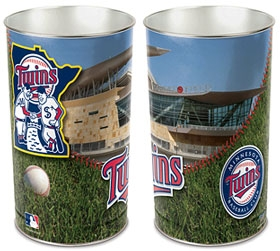 Minnesota Twins Wastebasket