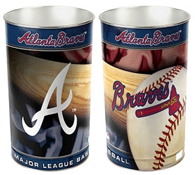 Atlanta Braves Wastebasket