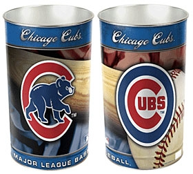 Chicago Cubs Wastebasket
