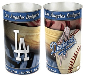 Los Angeles Dodgers Wastebasket
