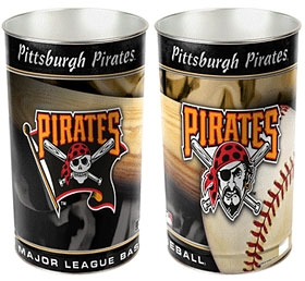 Pittsburgh Pirates Wastebasket