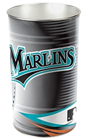 Florida Marlins Wastebasket