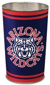 Arizona Wildcats Wastebasket