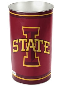 Iowa State Cyclones Wastebasket