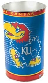 Kansas Jayhawks Wastebasket