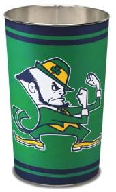 Notre Dame Fighting Irish Wastebasket
