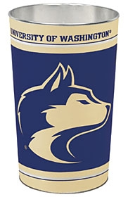 Washington Huskies Wastebasket