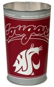 Washington State Cougars Wastebasket
