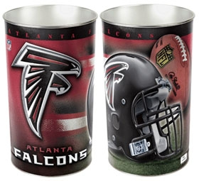 Atlanta Falcons Wastebasket
