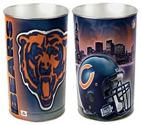 Chicago Bears Wastebasket