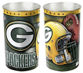 Green Bay Packers Wastebasket