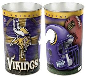 Minnesota Vikings Wastebasket