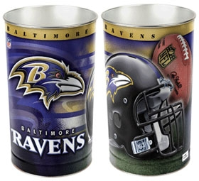 Baltimore Ravens Wastebasket