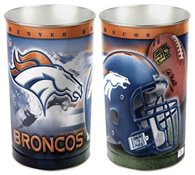 Denver Broncos Wastebasket