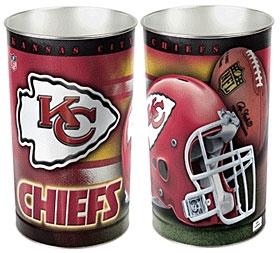 Kansas City Chiefs Wastebasket