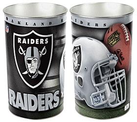 Oakland Raiders Wastebasket