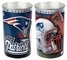 New England Patriots Wastebasket