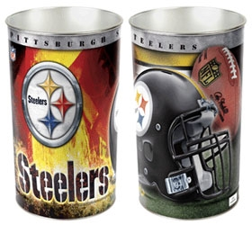 Pittsburgh Steelers Wastebasket