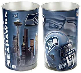 Seattle Seahawks Wastebasket