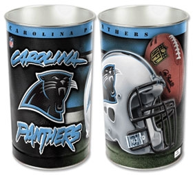 Carolina Panthers Wastebasket