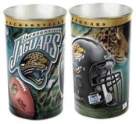 Jacksonville Jaguars Wastebasket