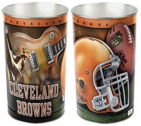 Cleveland Browns Wastebasket