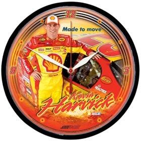 Kevin Harvick Round Clock